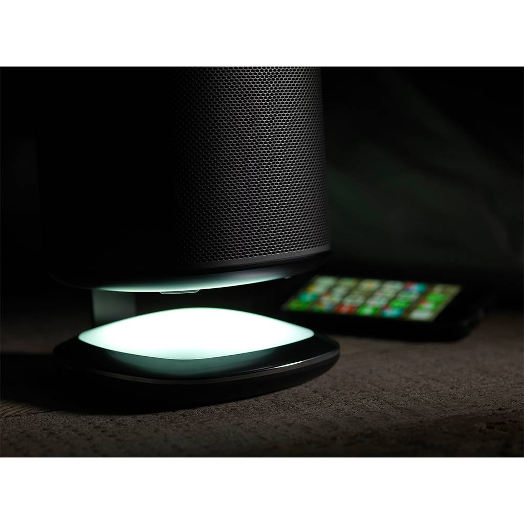 Flexson DeskStand mit Ambient-Light für Sonos Play:1