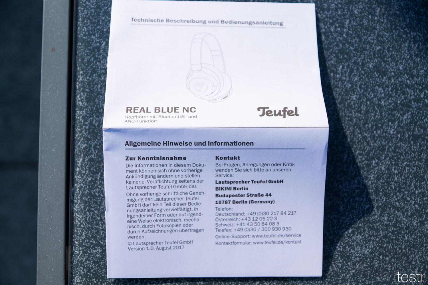 Teufel Real Blue NC 6