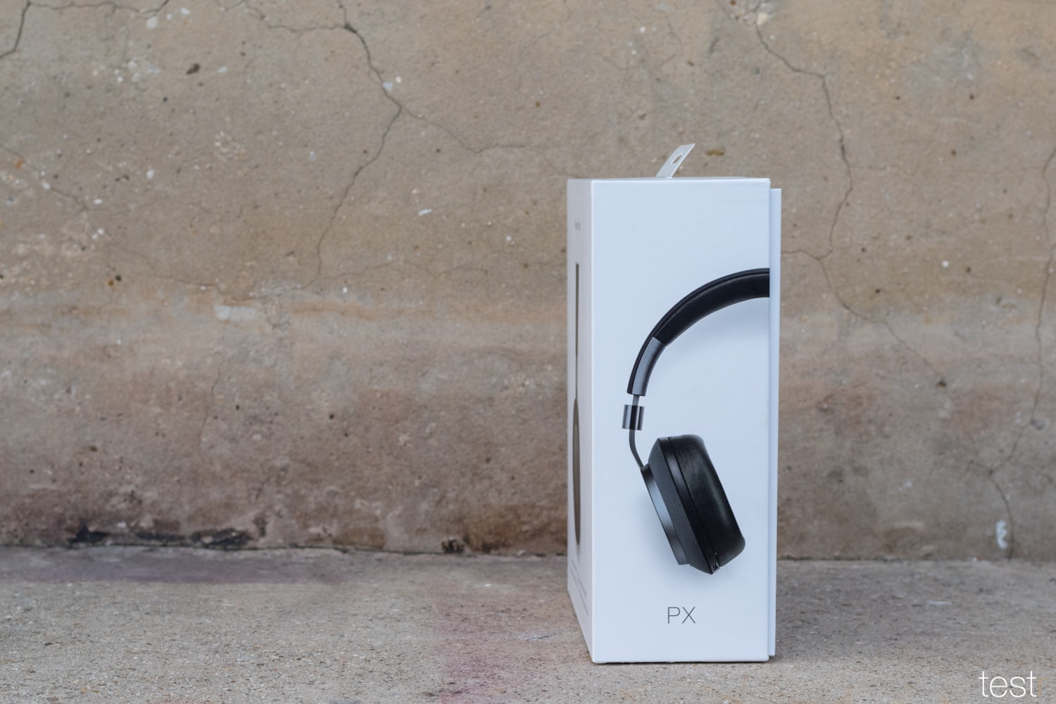 Bowers Wilkins PX Verpackung Seite
