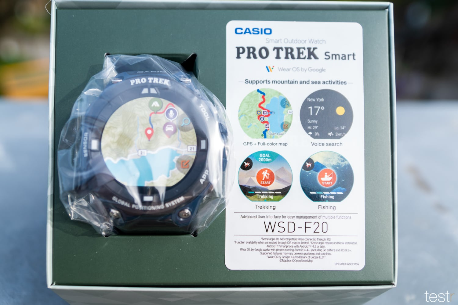 Casio Pro Trek Smart WSD F20A 30
