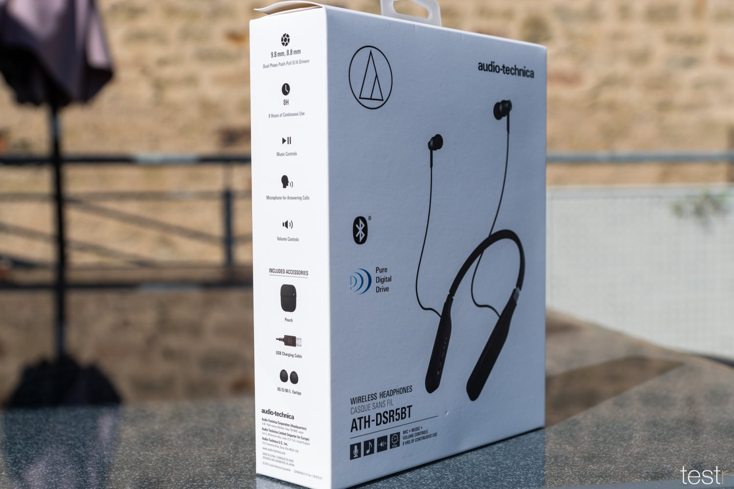 Audio Technica ATH DSR5BT 1
