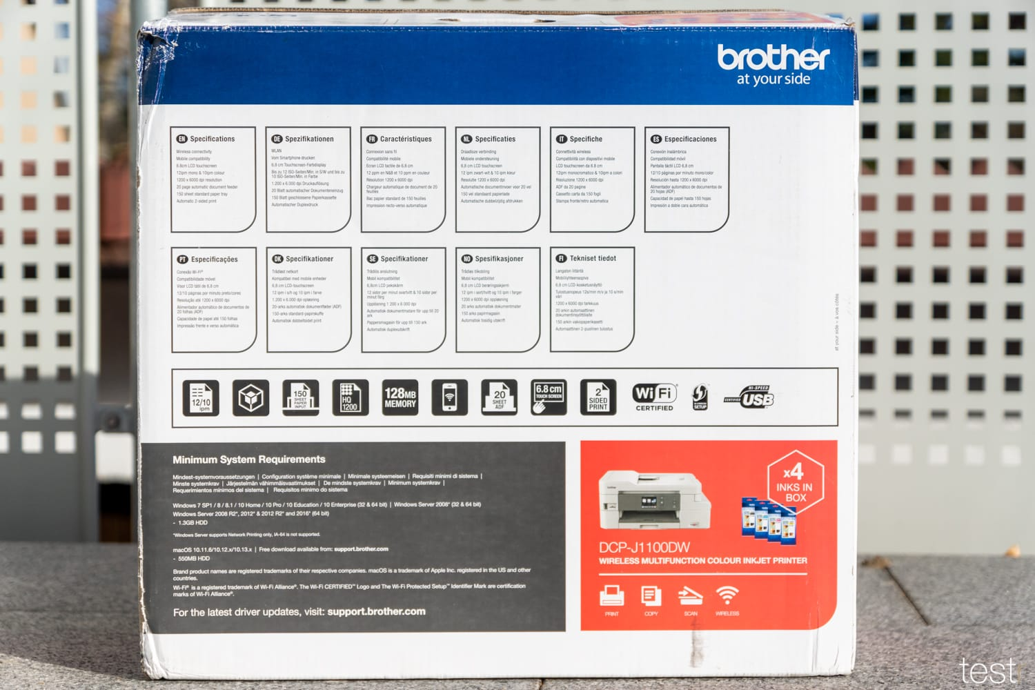 Brother DCP J1100DW 2