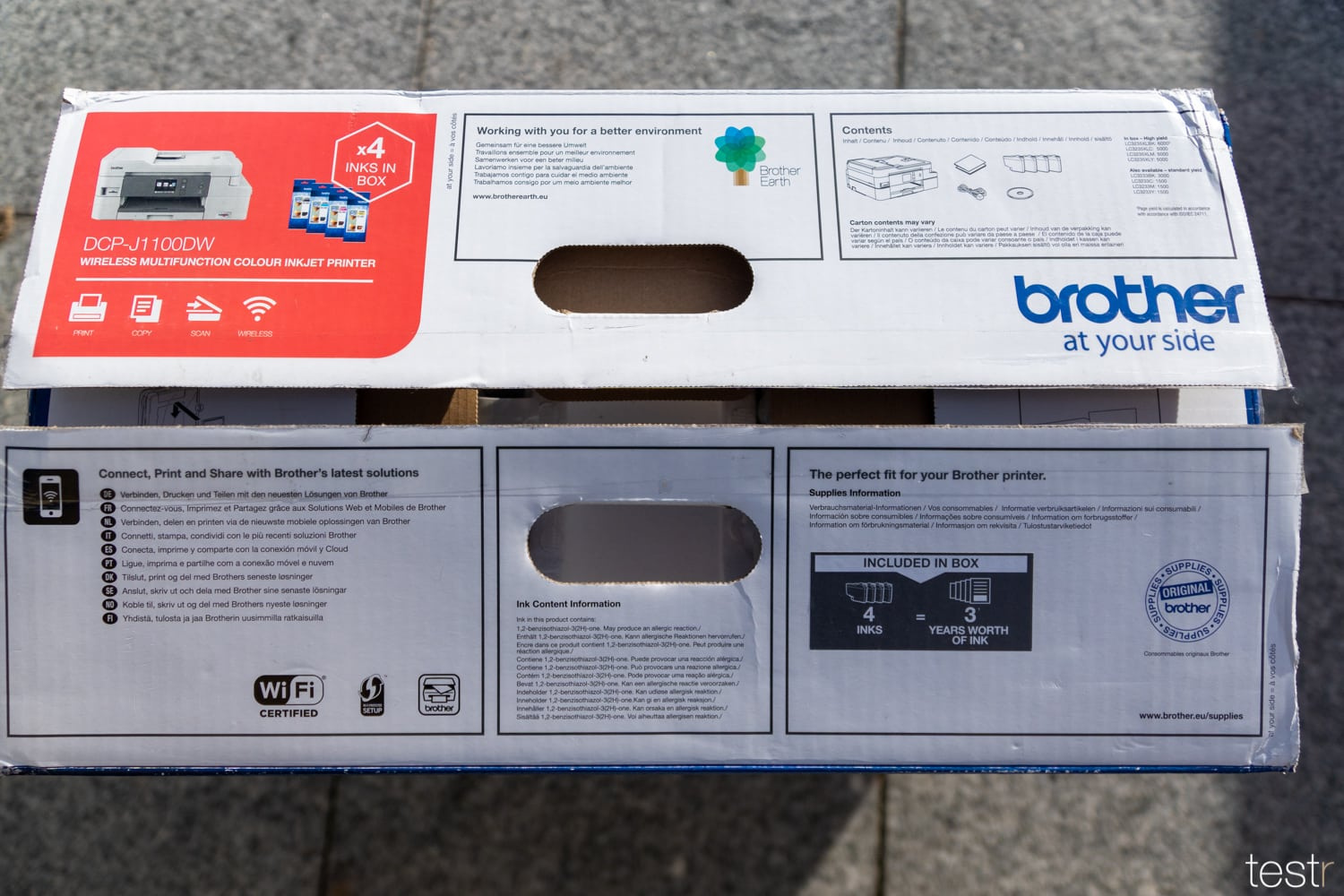 Brother DCP J1100DW 4
