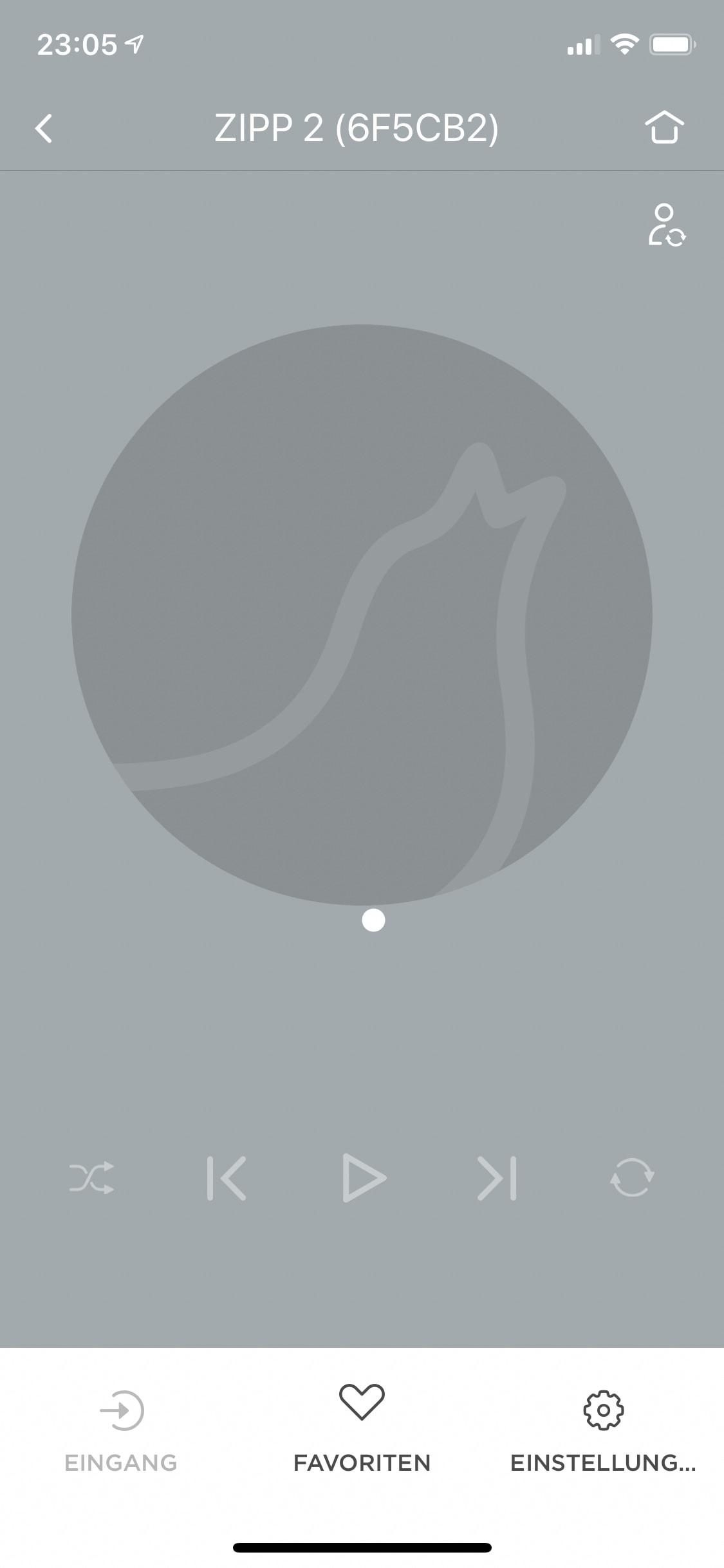 Startseite des Zipp 2