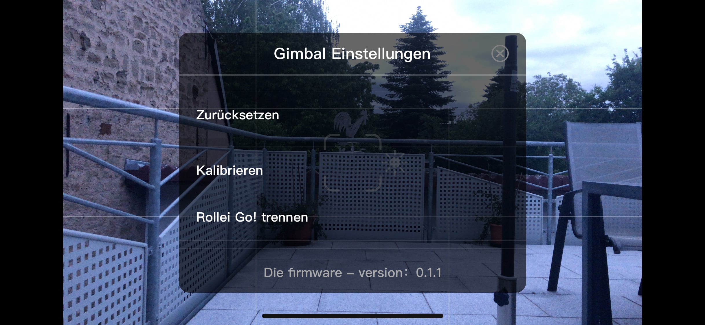 Rollei Go! App Software 3